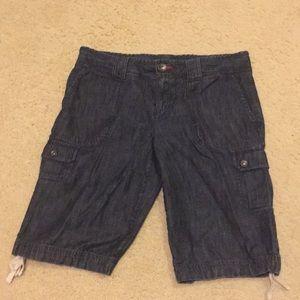Tommy Hilfiger dark denim Jean shorts